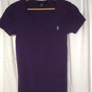 Ralph Lauren  Medium  Purple Women's shirt